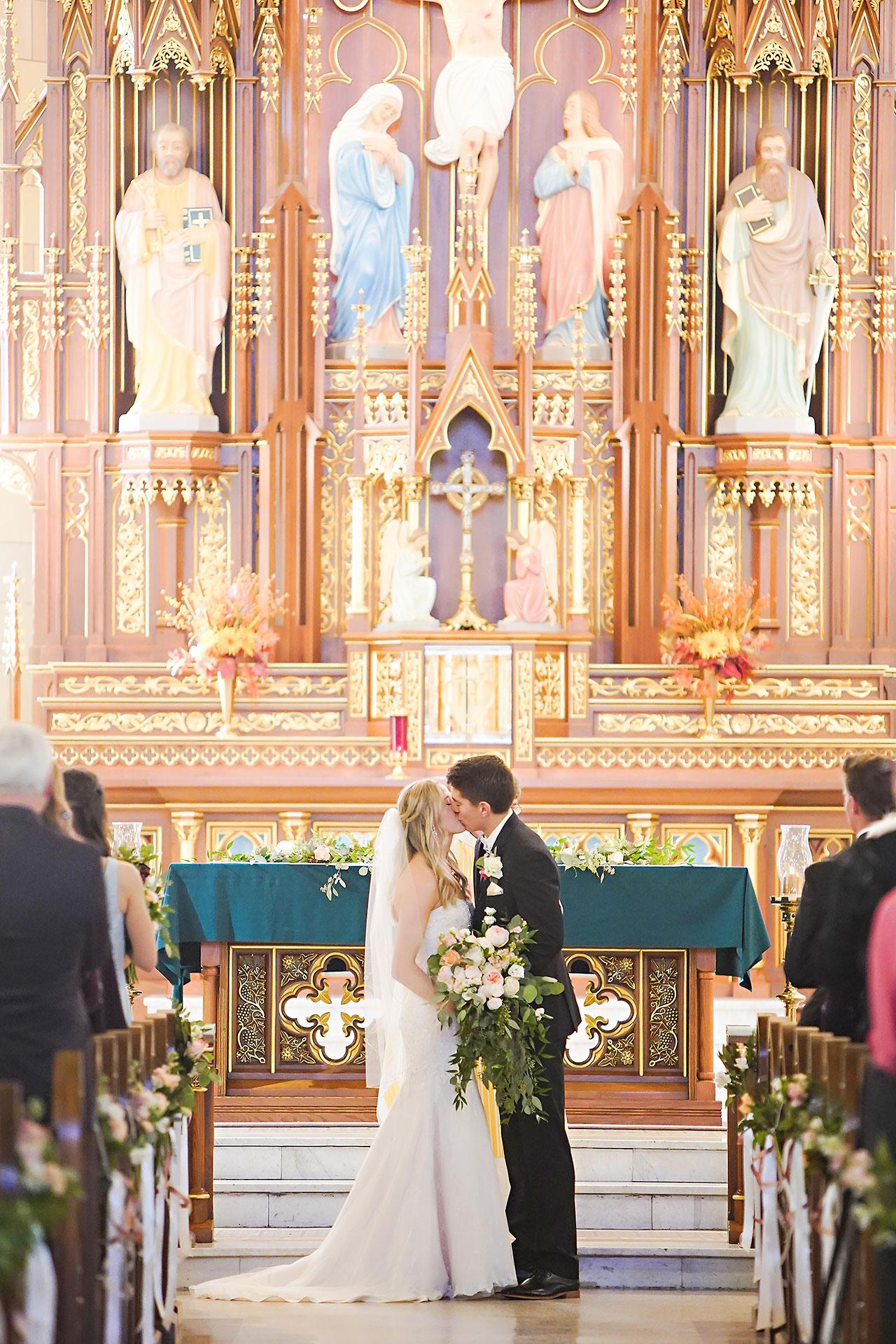 Courtney Areyan Sacred Heart and DAmore Indianapolis Wedding 102