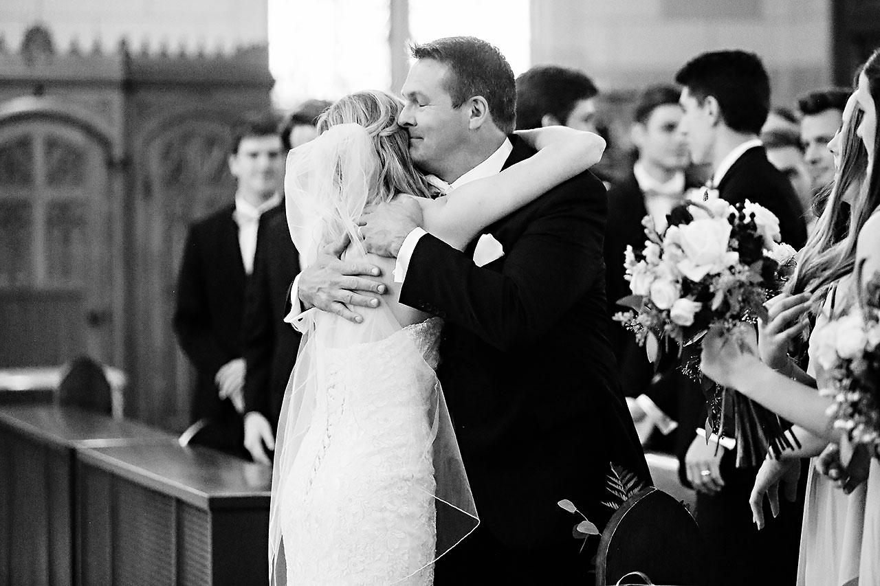 Courtney Areyan Sacred Heart and DAmore Indianapolis Wedding 099