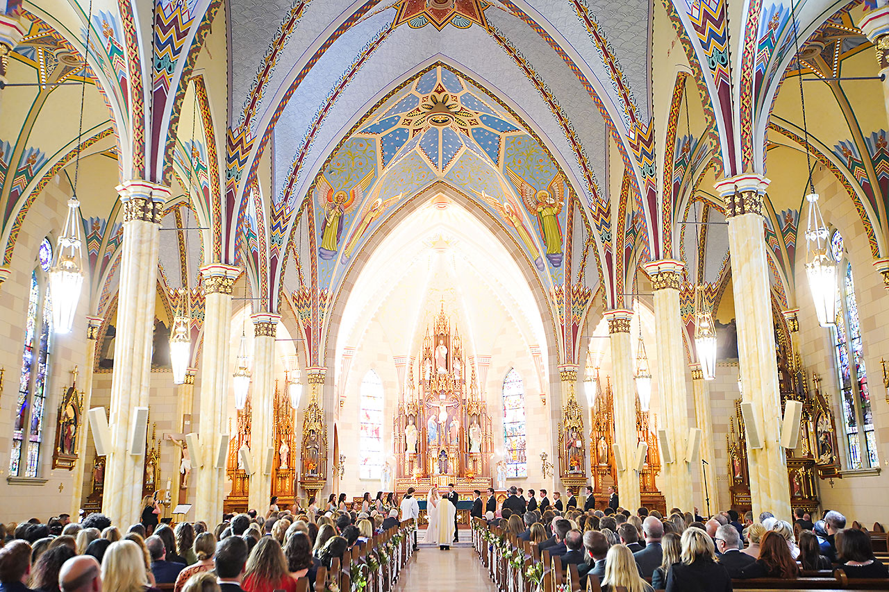 Courtney Areyan Sacred Heart and DAmore Indianapolis Wedding 097