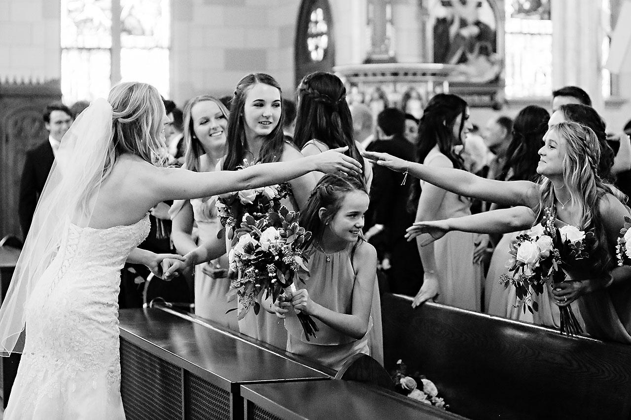 Courtney Areyan Sacred Heart and DAmore Indianapolis Wedding 098