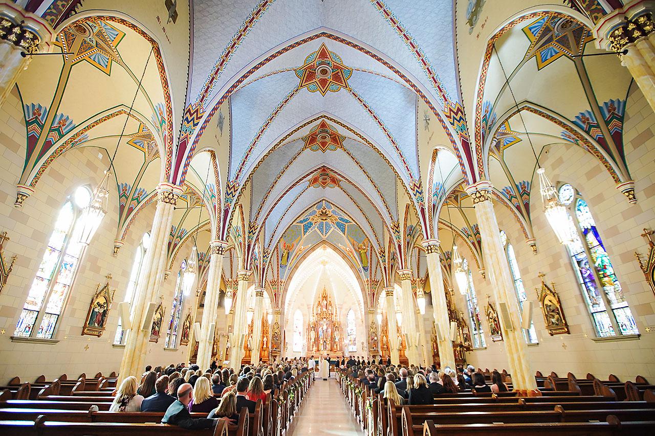 Courtney Areyan Sacred Heart and DAmore Indianapolis Wedding 091