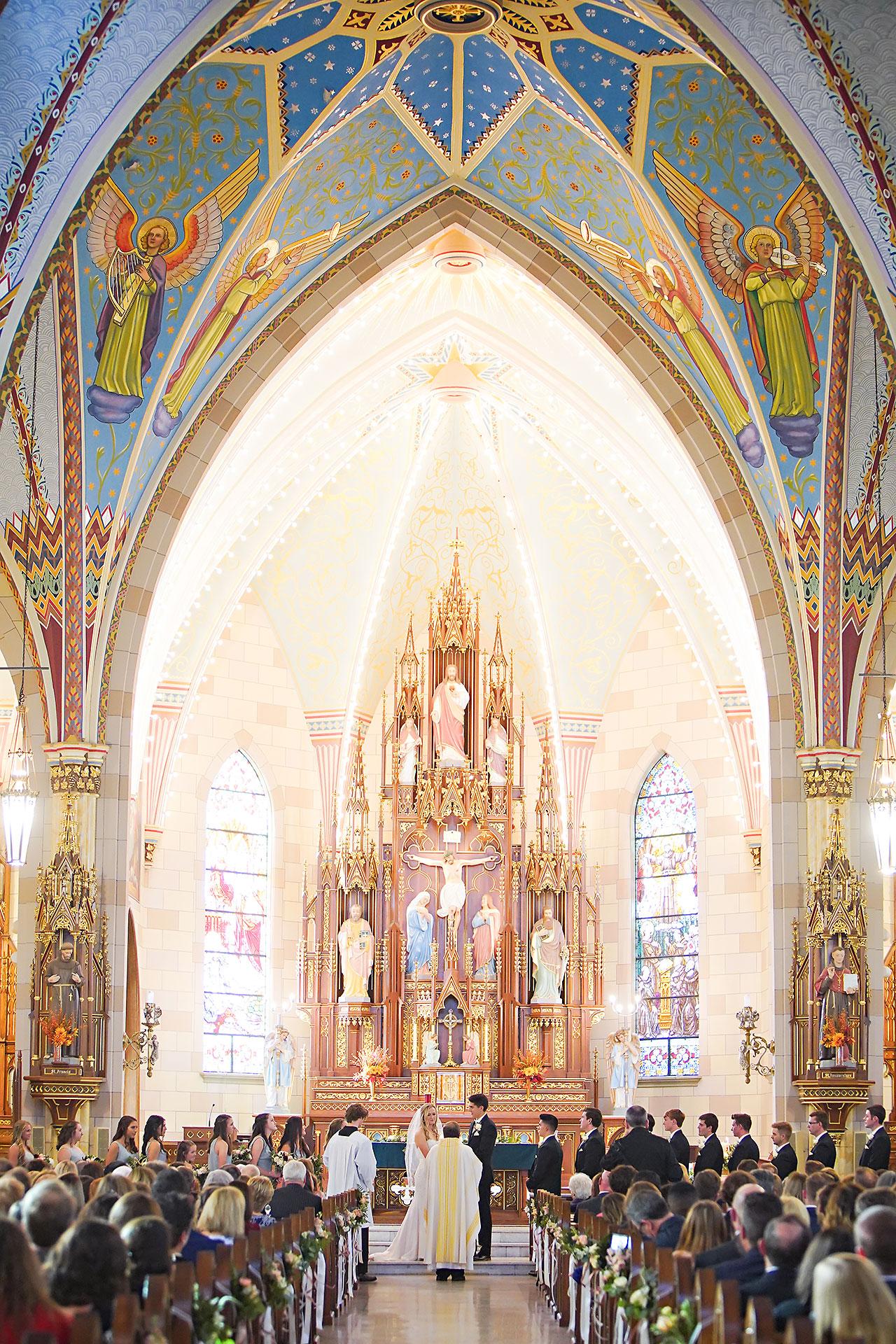 Courtney Areyan Sacred Heart and DAmore Indianapolis Wedding 093