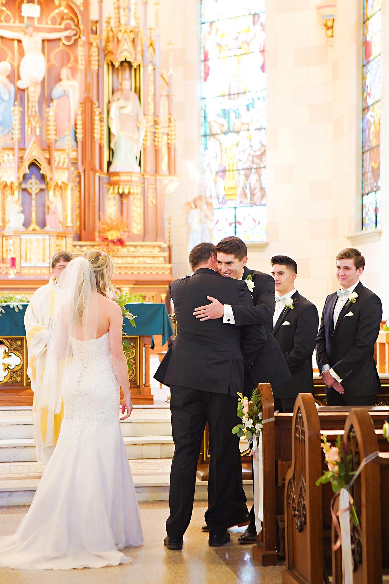Courtney Areyan Sacred Heart and DAmore Indianapolis Wedding 090