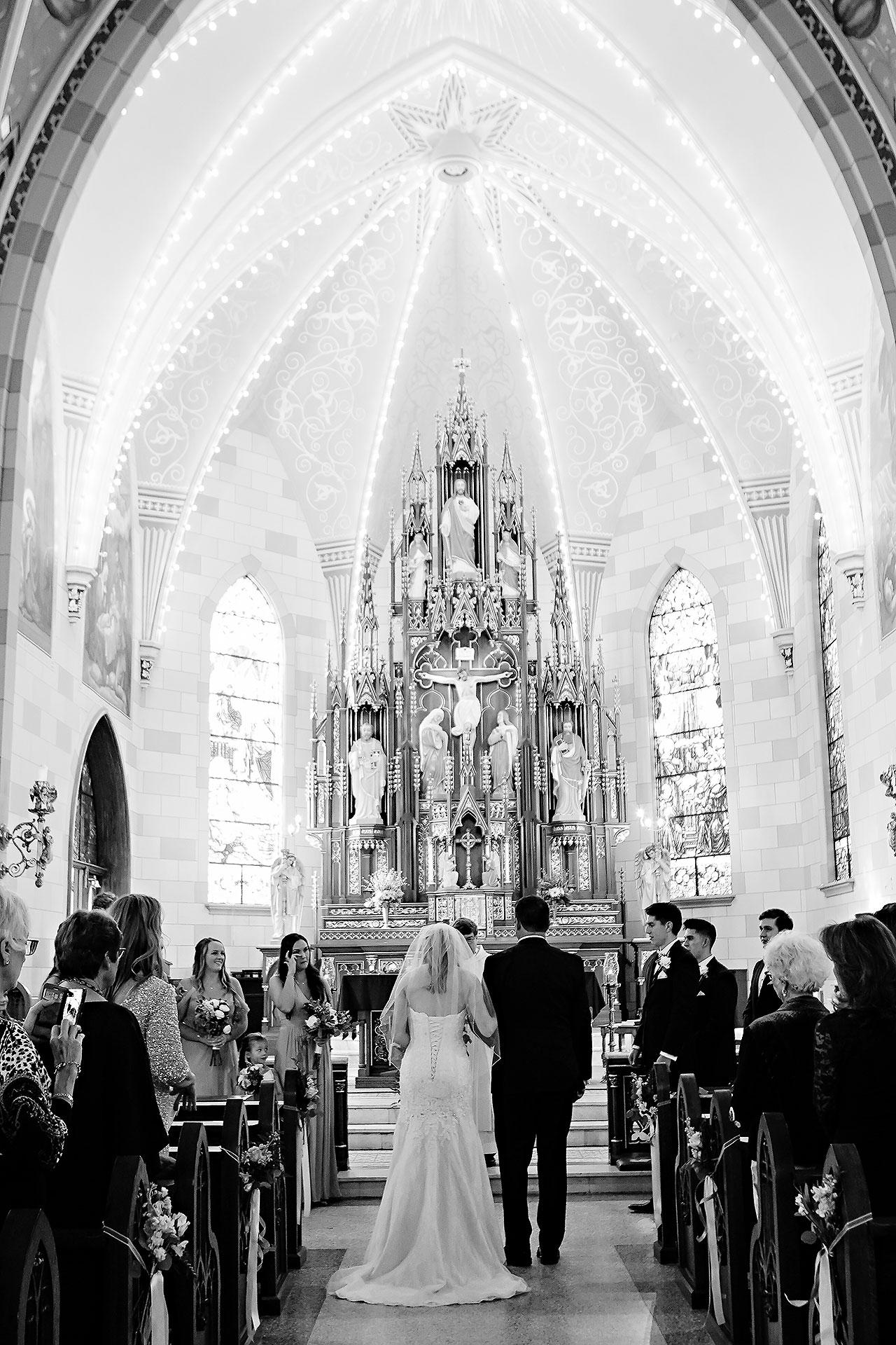 Courtney Areyan Sacred Heart and DAmore Indianapolis Wedding 087