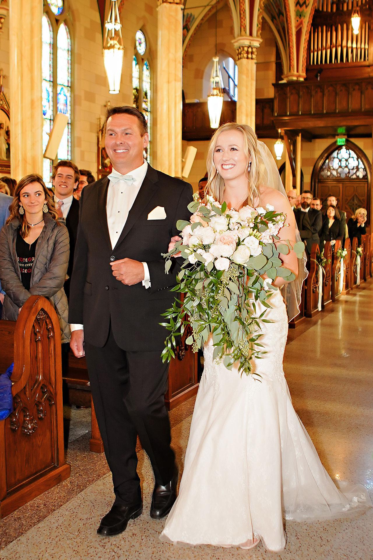Courtney Areyan Sacred Heart and DAmore Indianapolis Wedding 085