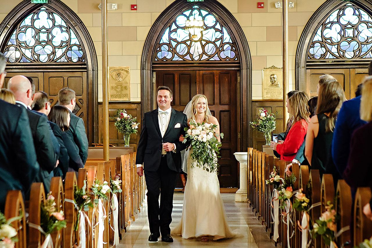 Courtney Areyan Sacred Heart and DAmore Indianapolis Wedding 082