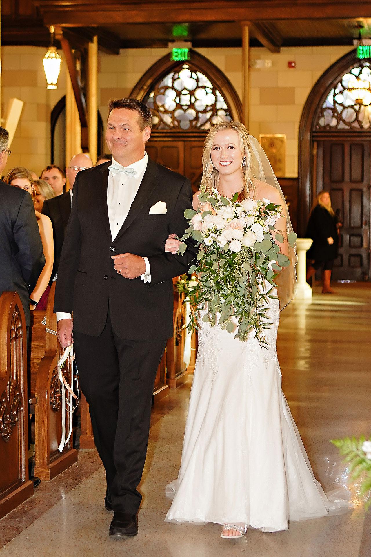 Courtney Areyan Sacred Heart and DAmore Indianapolis Wedding 083