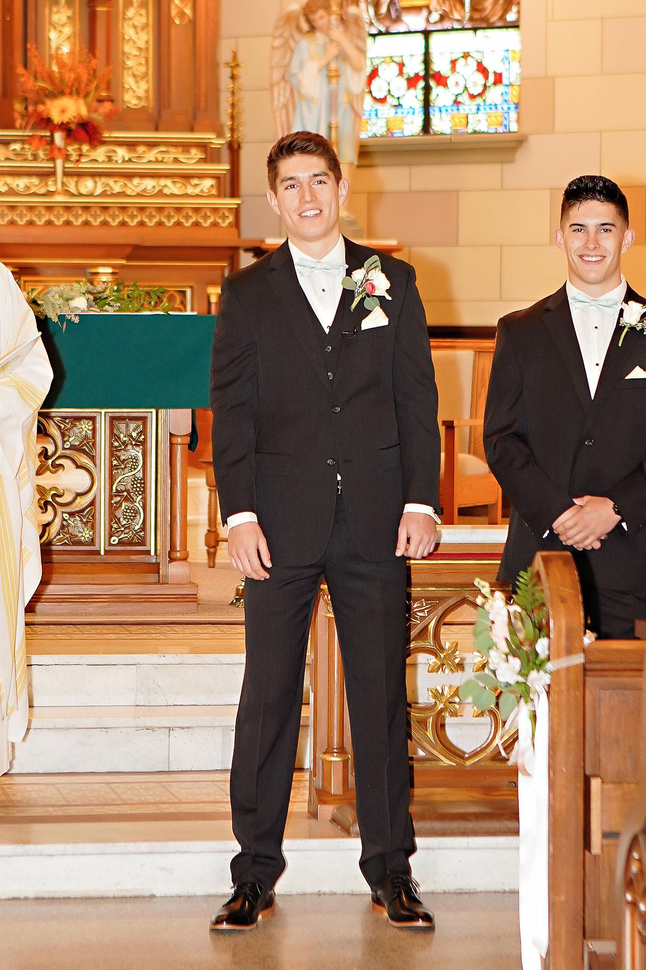 Courtney Areyan Sacred Heart and DAmore Indianapolis Wedding 084