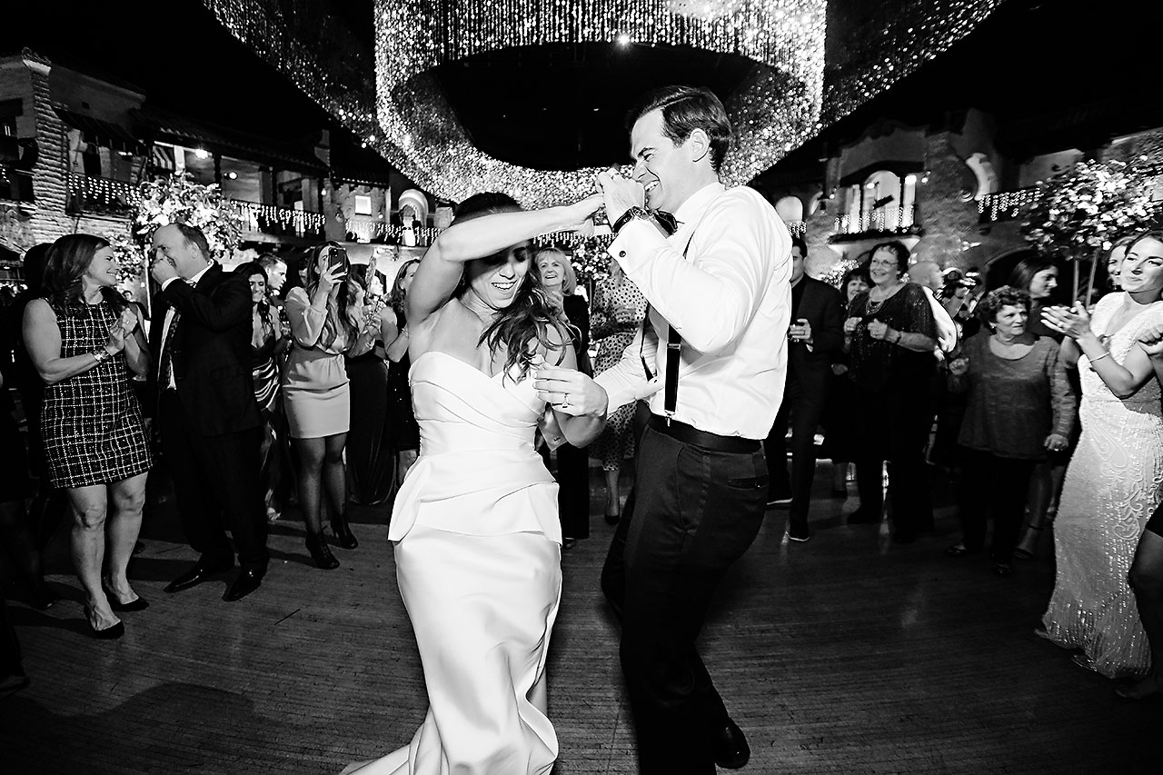 Lucia Matt Indiana Roof Ballroom Wedding Reception 295