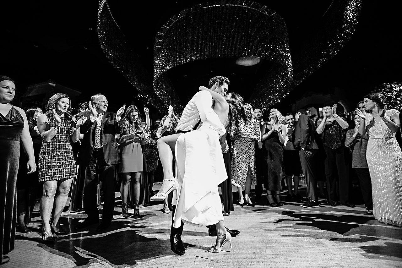 Lucia Matt Indiana Roof Ballroom Wedding Reception 296