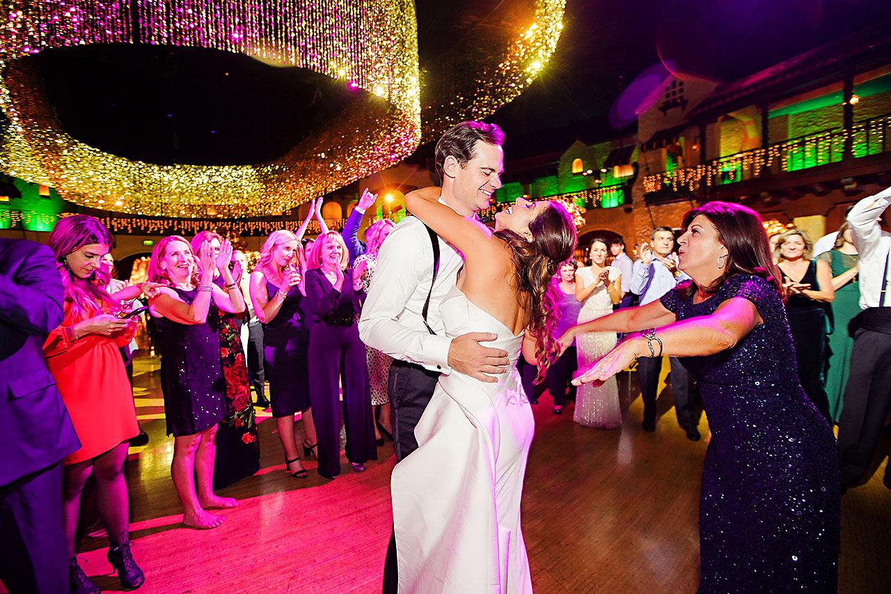 Lucia Matt Indiana Roof Ballroom Wedding Reception 297