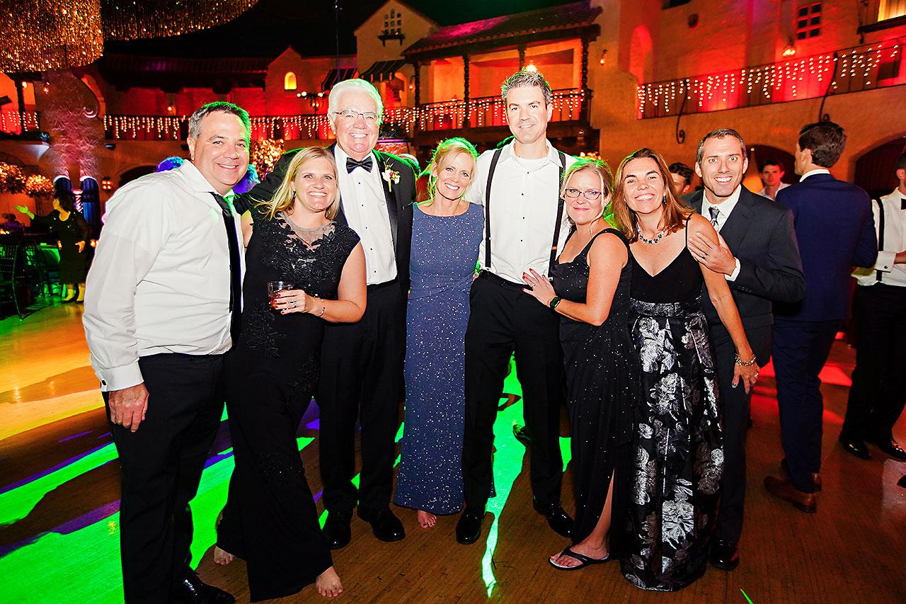 Lucia Matt Indiana Roof Ballroom Wedding Reception 293