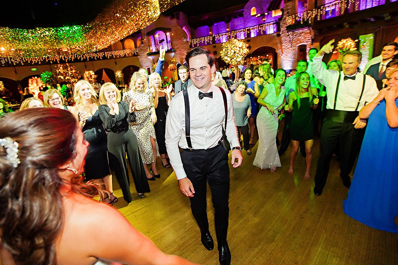 Lucia Matt Indiana Roof Ballroom Wedding Reception 294