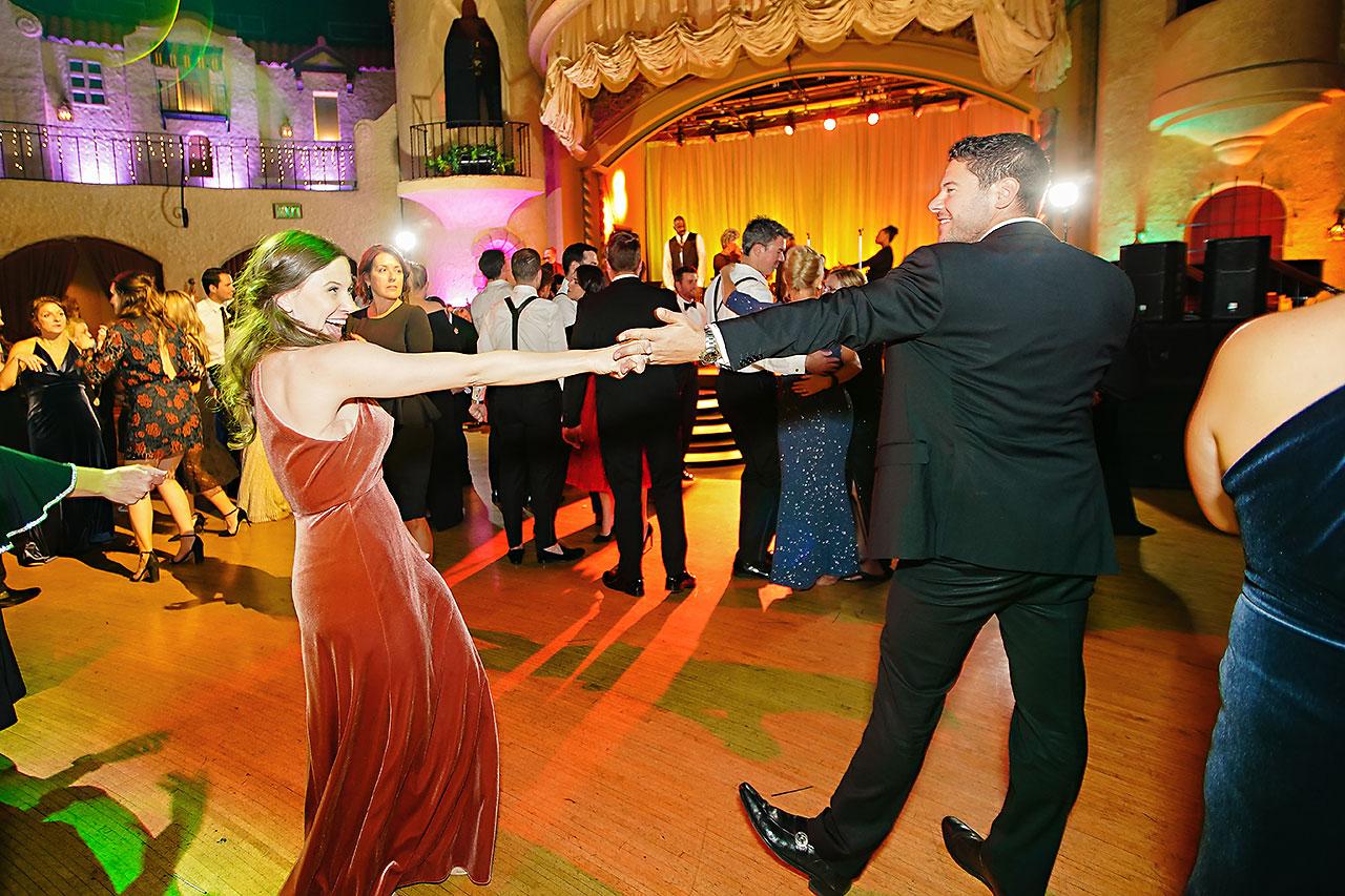 Lucia Matt Indiana Roof Ballroom Wedding Reception 291