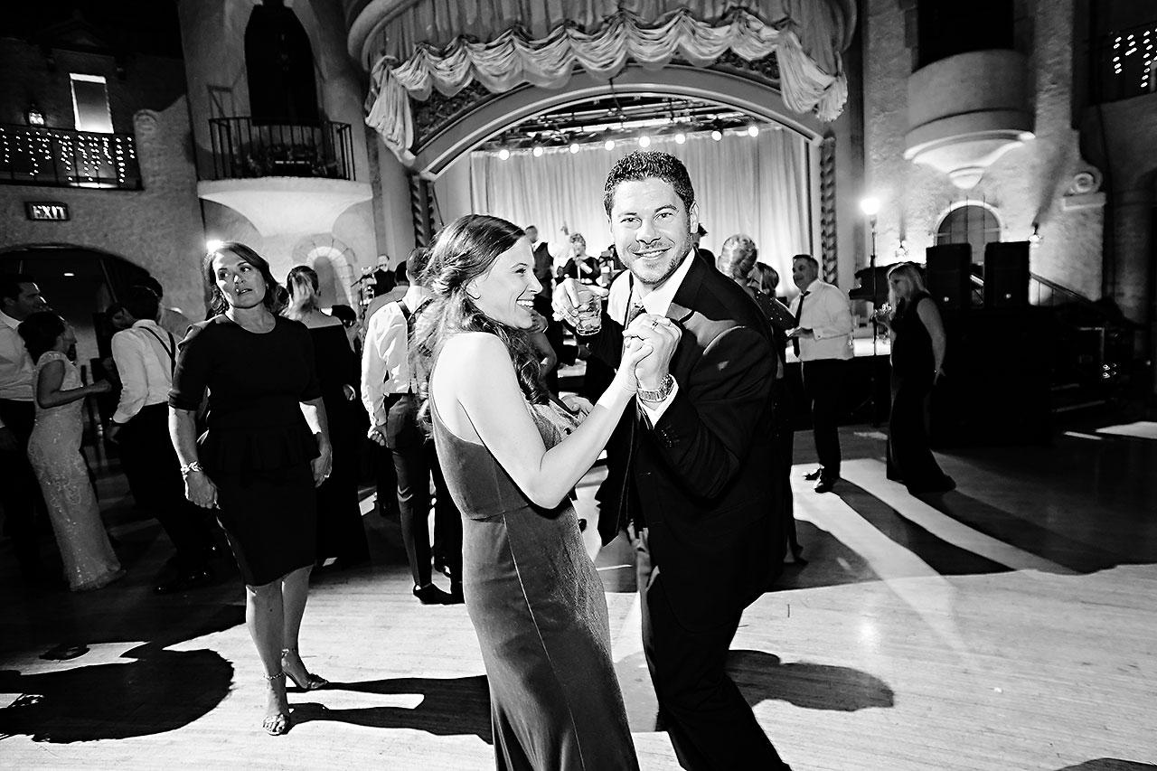 Lucia Matt Indiana Roof Ballroom Wedding Reception 292