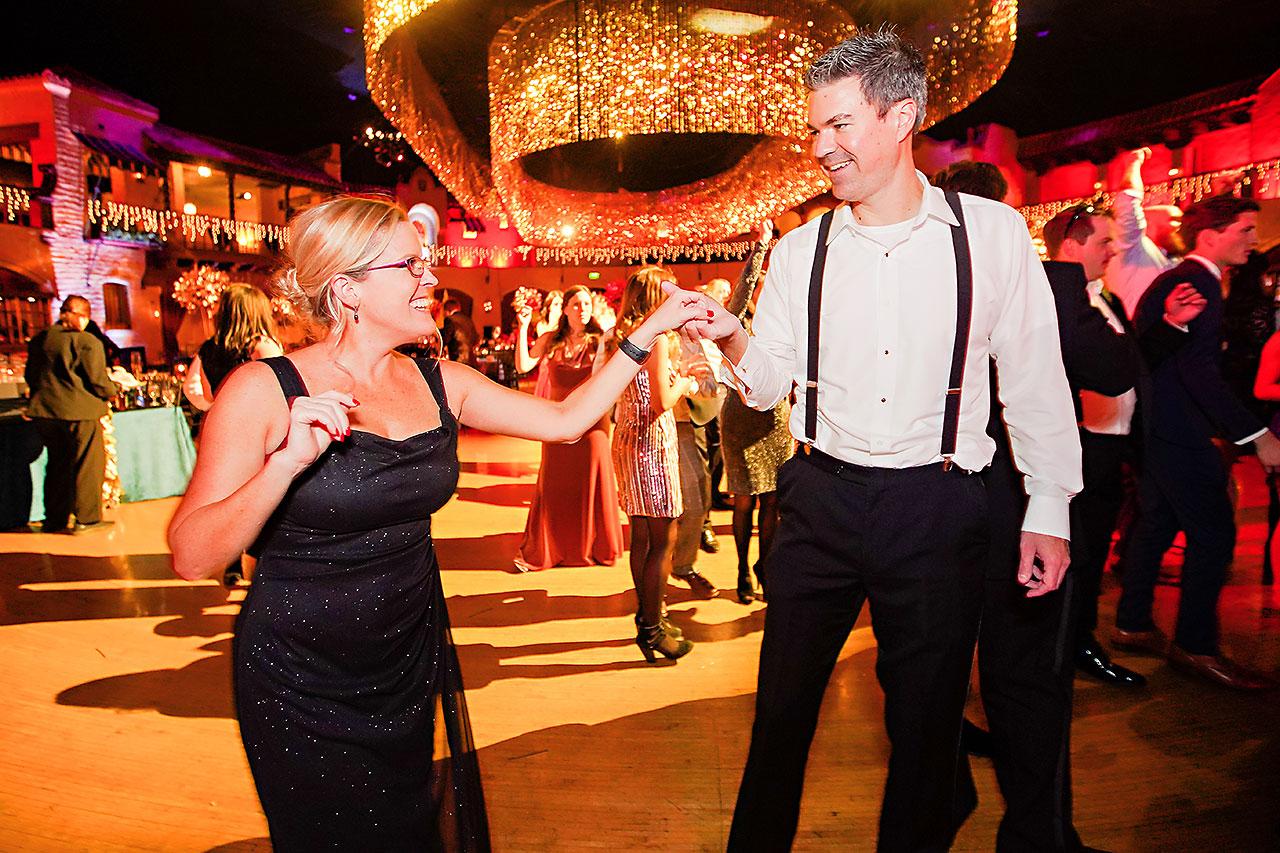 Lucia Matt Indiana Roof Ballroom Wedding Reception 290