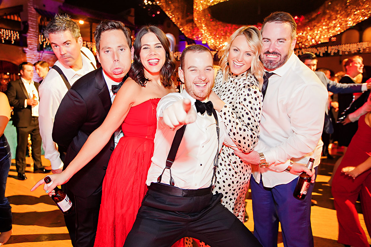 Lucia Matt Indiana Roof Ballroom Wedding Reception 287