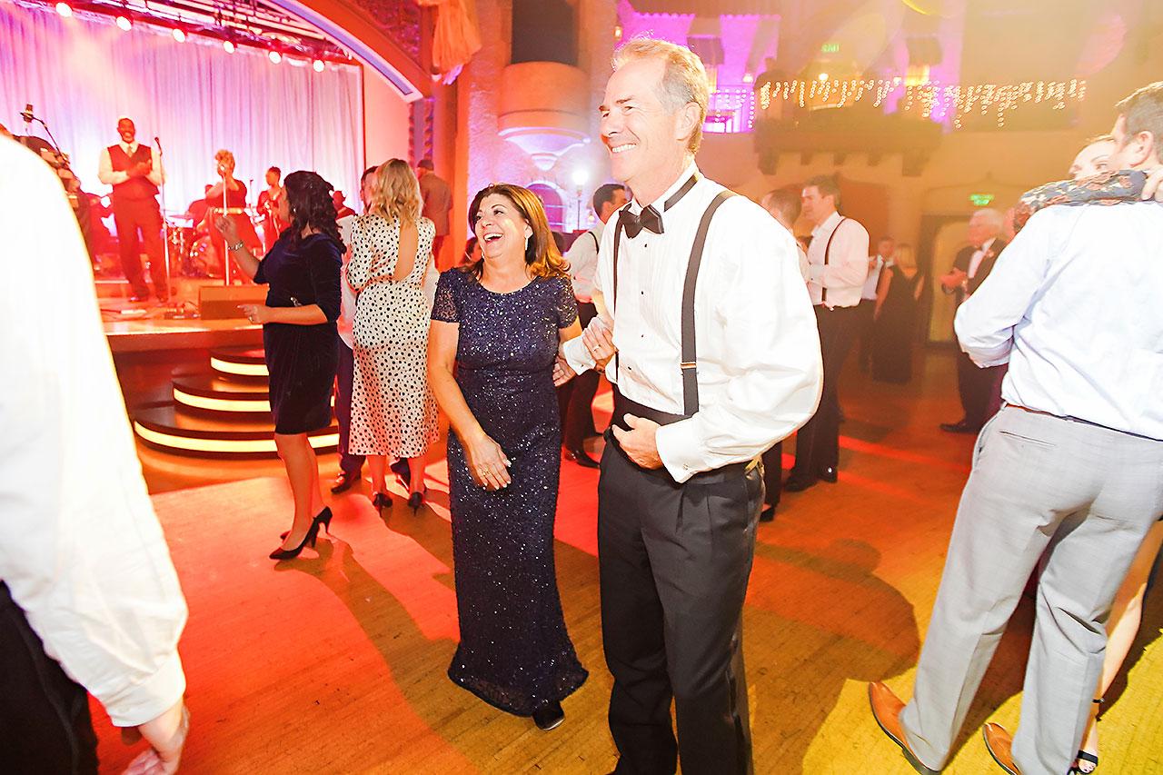 Lucia Matt Indiana Roof Ballroom Wedding Reception 288