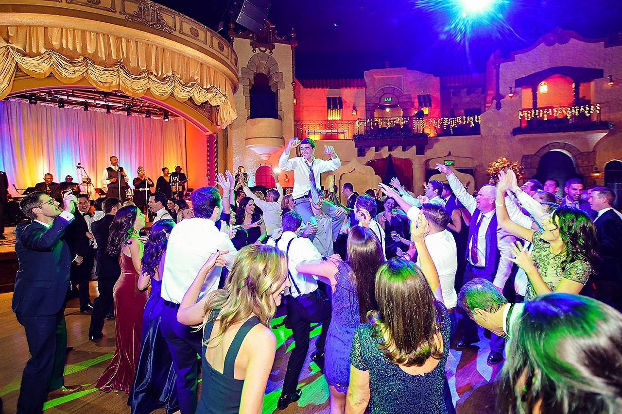 Lucia Matt Indiana Roof Ballroom Wedding Reception 281