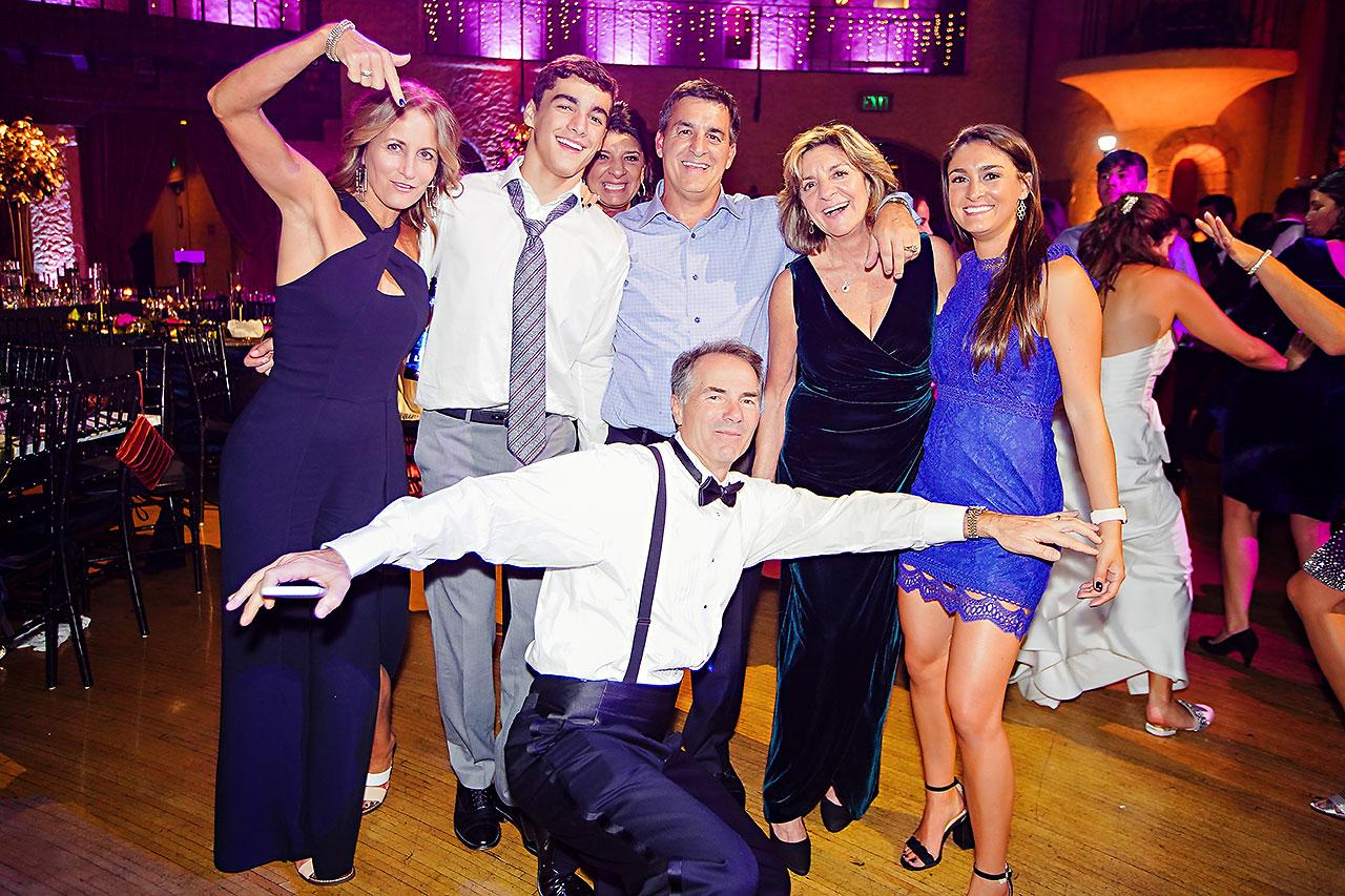Lucia Matt Indiana Roof Ballroom Wedding Reception 282