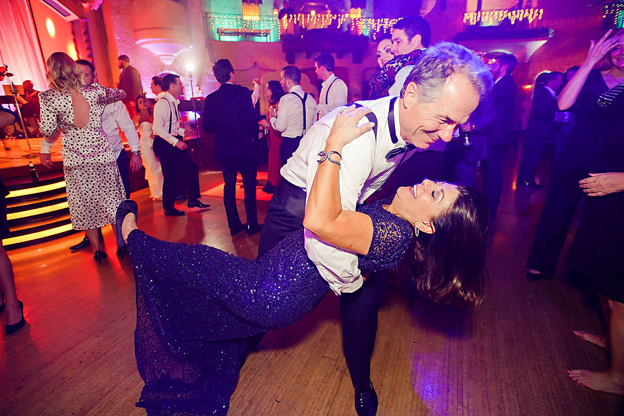 Lucia Matt Indiana Roof Ballroom Wedding Reception 274