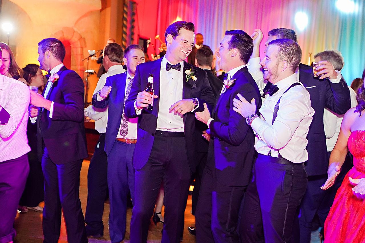 Lucia Matt Indiana Roof Ballroom Wedding Reception 275