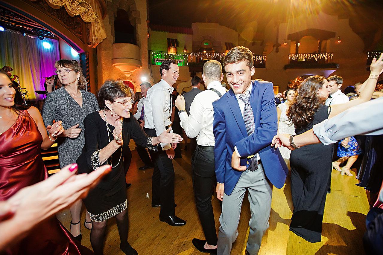 Lucia Matt Indiana Roof Ballroom Wedding Reception 276
