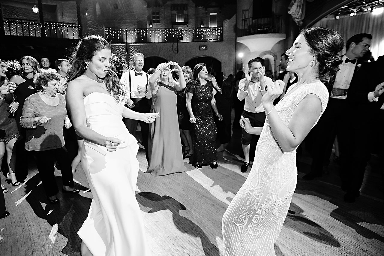 Lucia Matt Indiana Roof Ballroom Wedding Reception 273