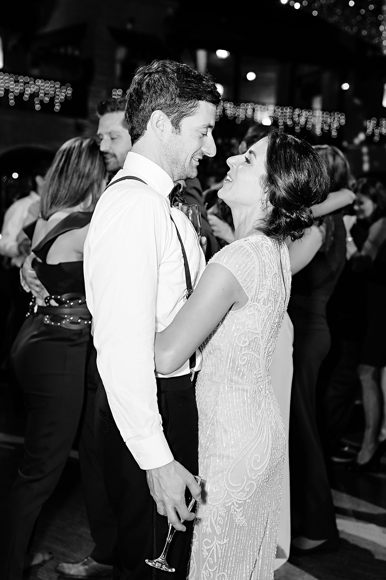 Lucia Matt Indiana Roof Ballroom Wedding Reception 271