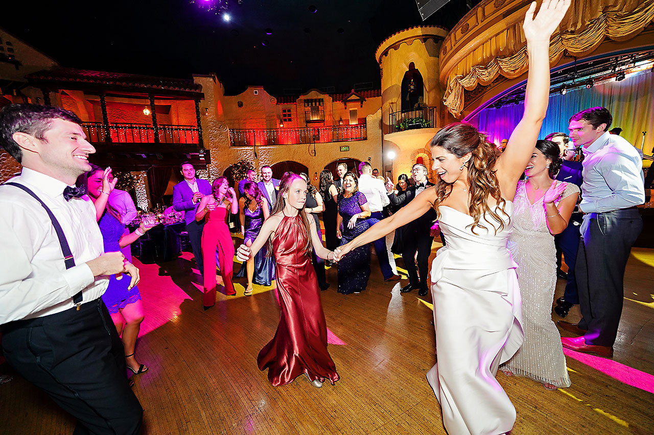 Lucia Matt Indiana Roof Ballroom Wedding Reception 264