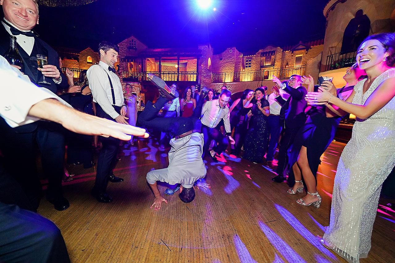 Lucia Matt Indiana Roof Ballroom Wedding Reception 262
