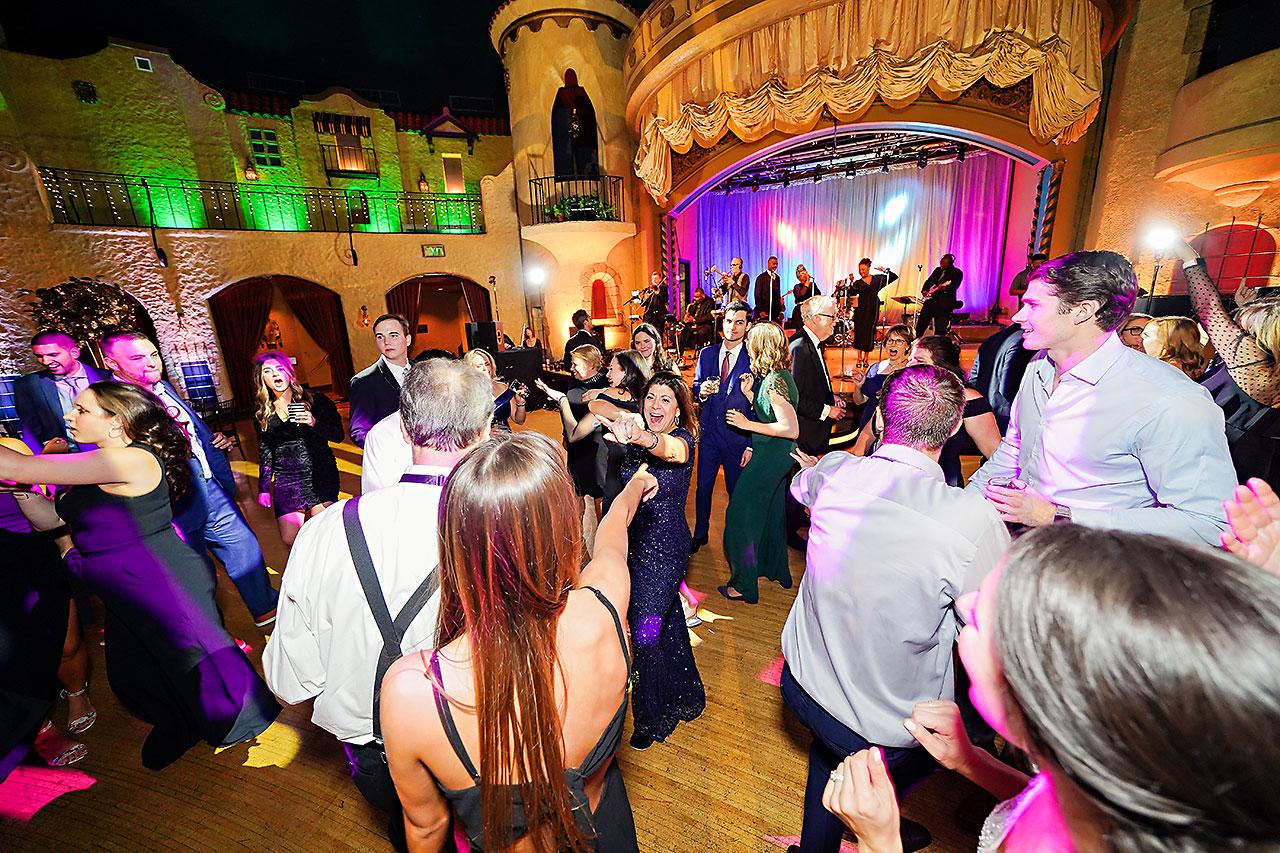 Lucia Matt Indiana Roof Ballroom Wedding Reception 259