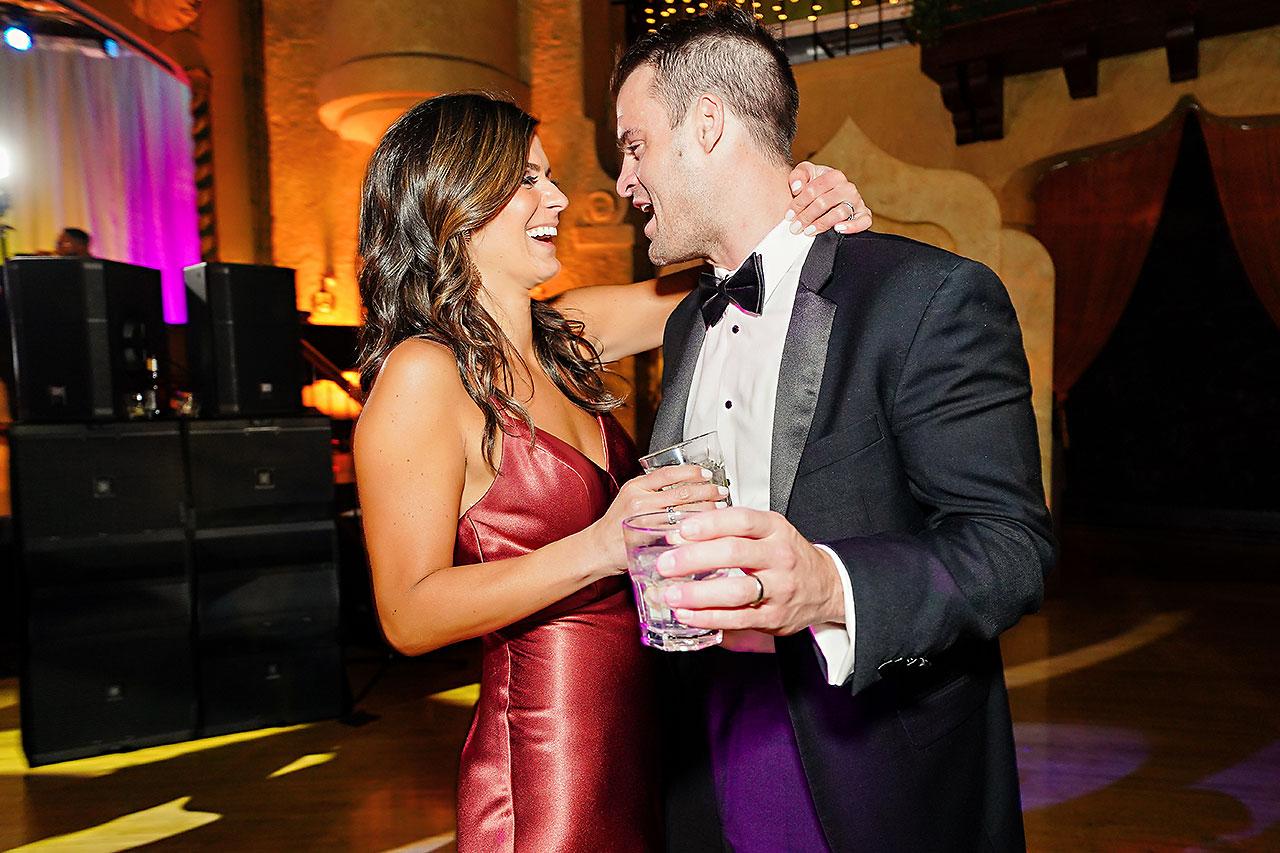 Lucia Matt Indiana Roof Ballroom Wedding Reception 260