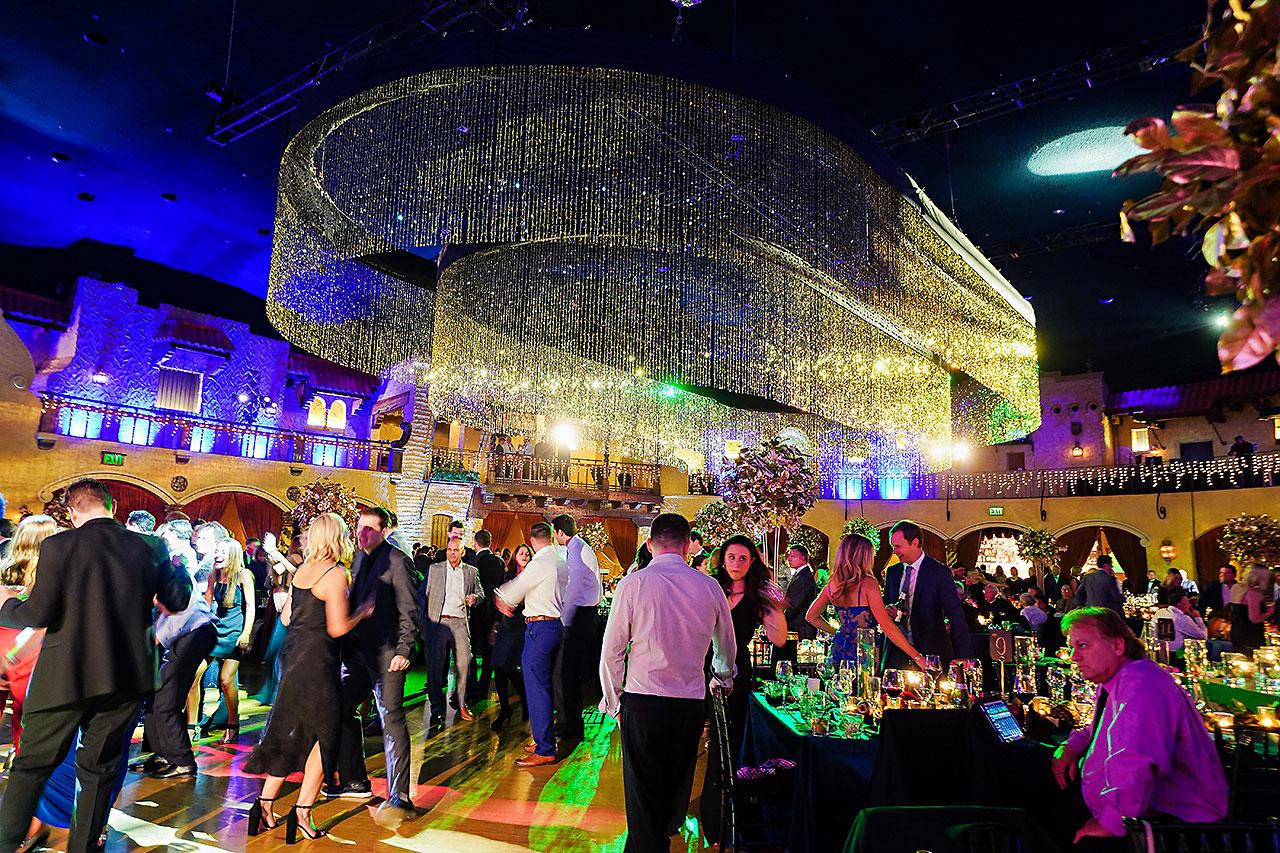 Lucia Matt Indiana Roof Ballroom Wedding Reception 257