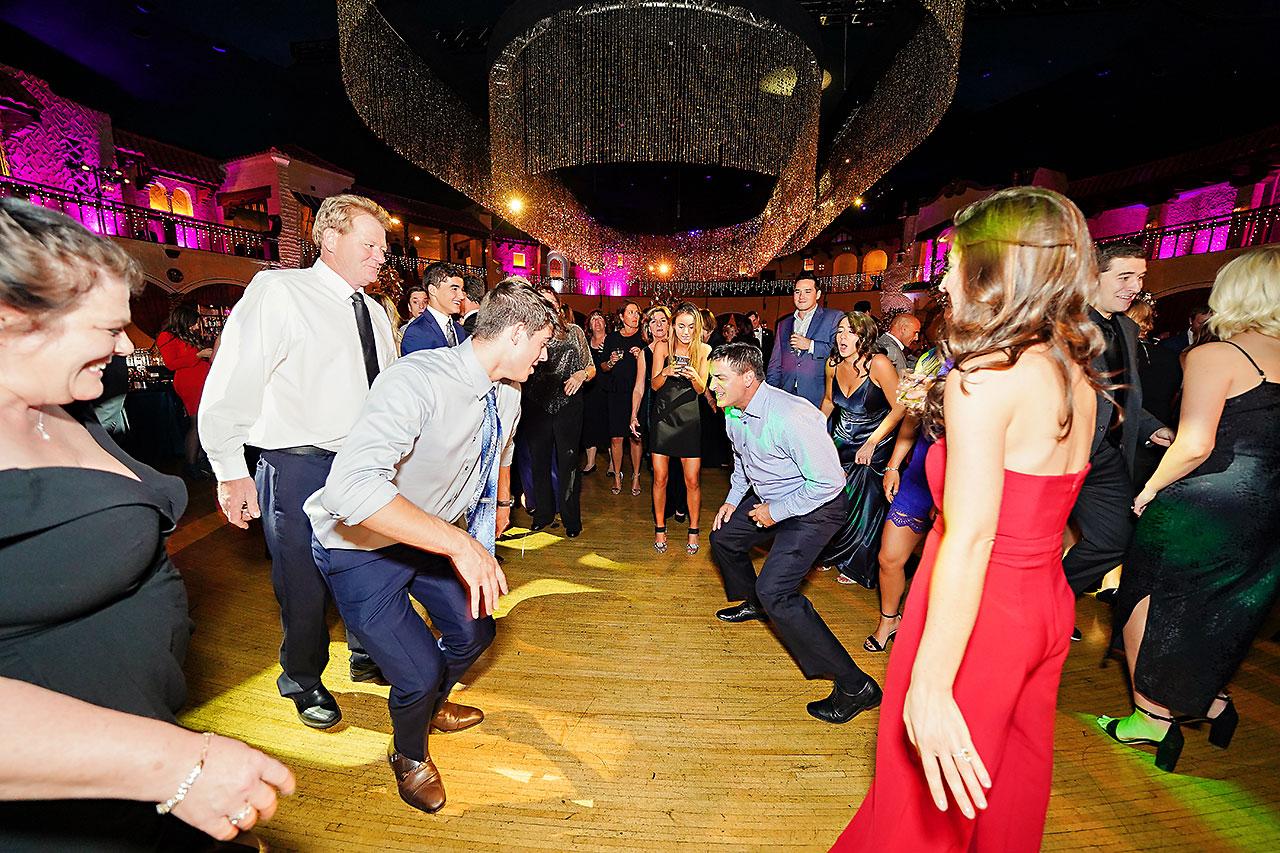Lucia Matt Indiana Roof Ballroom Wedding Reception 256