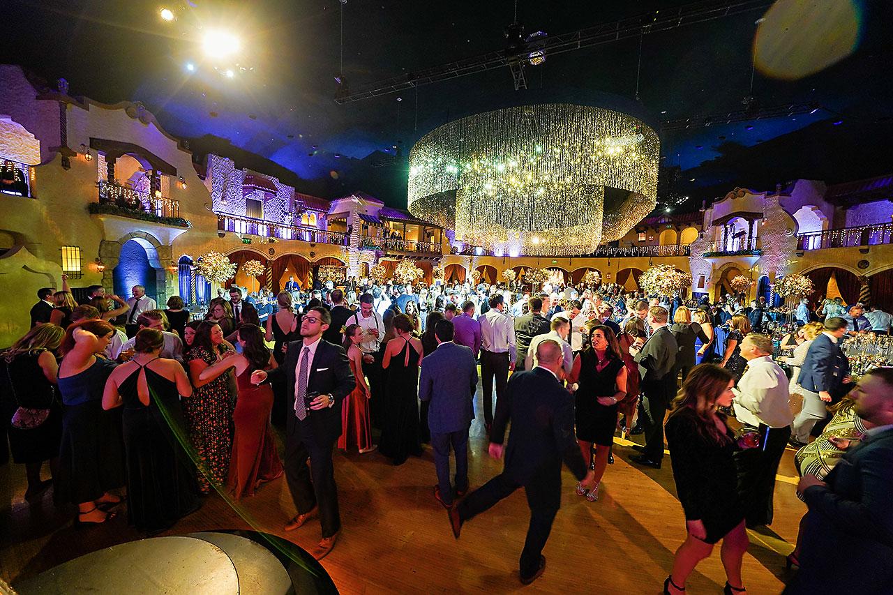 Lucia Matt Indiana Roof Ballroom Wedding Reception 252