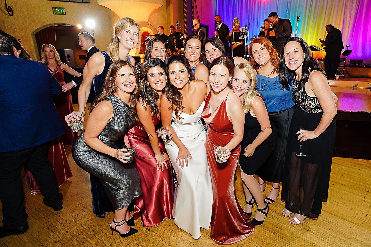 Lucia Matt Indiana Roof Ballroom Wedding Reception 254