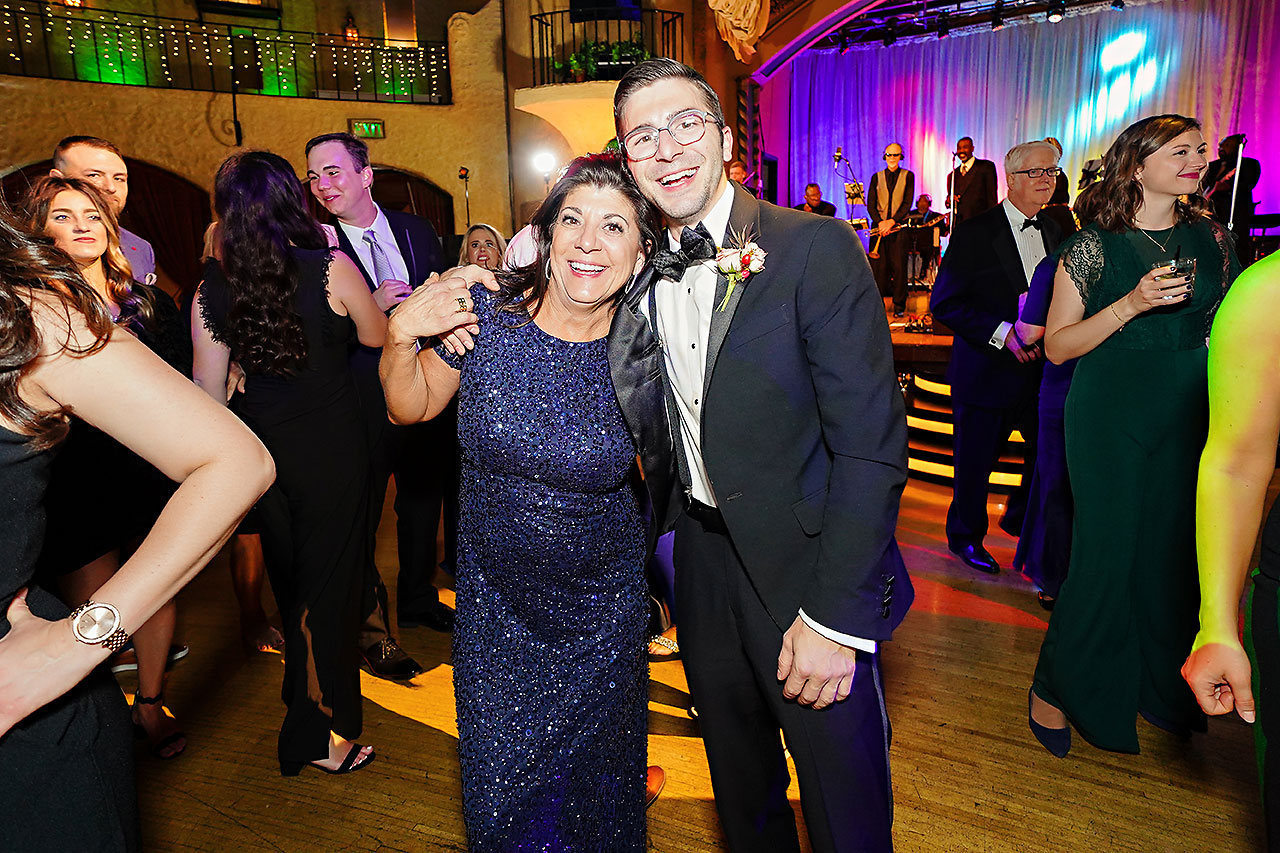 Lucia Matt Indiana Roof Ballroom Wedding Reception 251