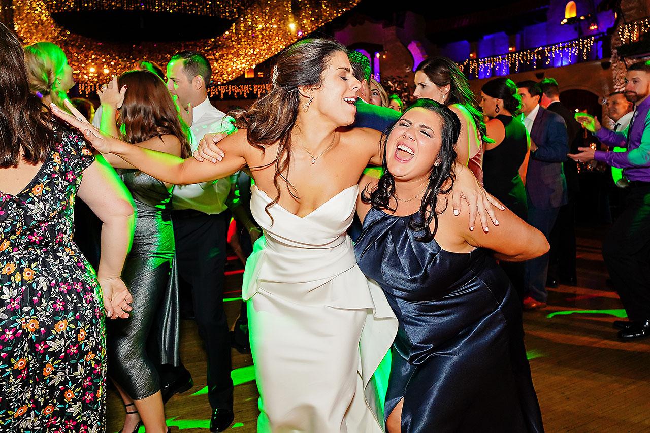 Lucia Matt Indiana Roof Ballroom Wedding Reception 249
