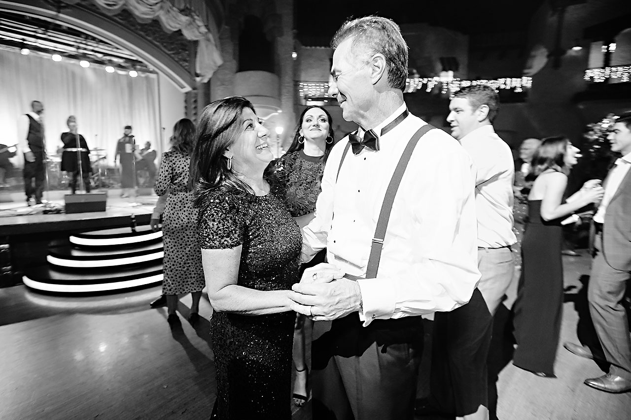 Lucia Matt Indiana Roof Ballroom Wedding Reception 247