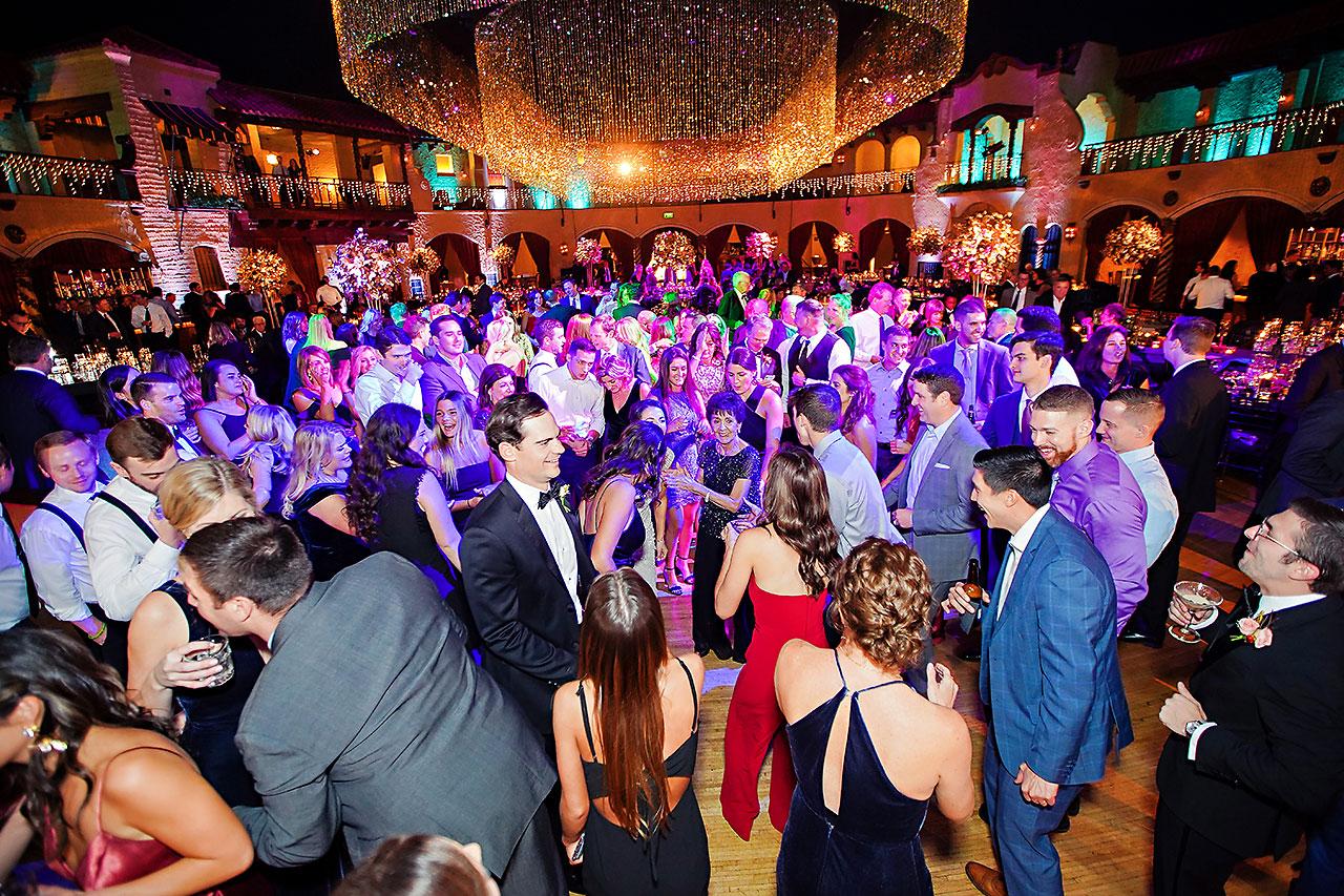 Lucia Matt Indiana Roof Ballroom Wedding Reception 244