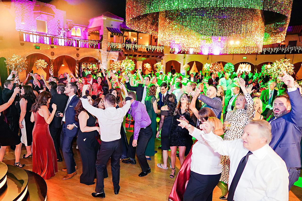 Lucia Matt Indiana Roof Ballroom Wedding Reception 242