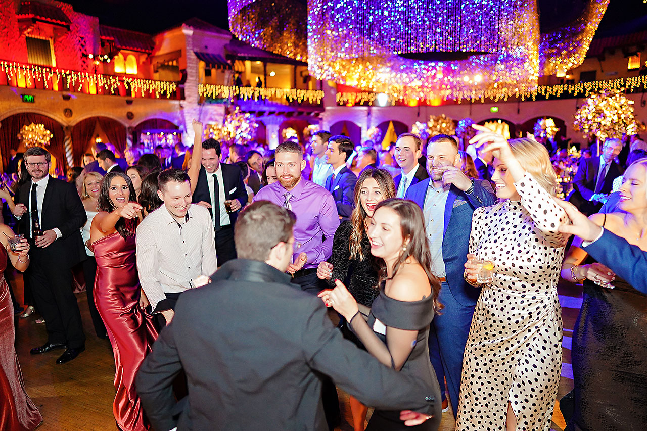 Lucia Matt Indiana Roof Ballroom Wedding Reception 240