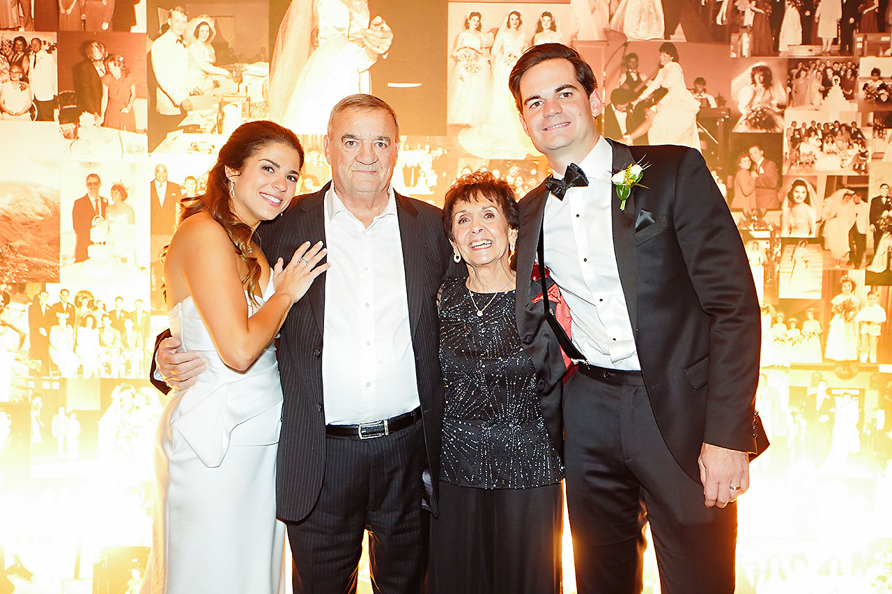 Lucia Matt Indiana Roof Ballroom Wedding Reception 235