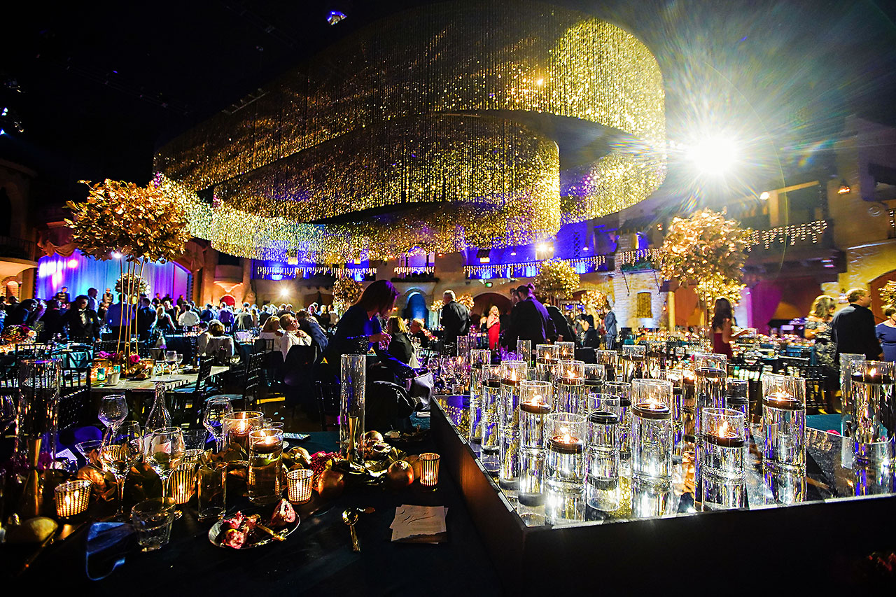 Lucia Matt Indiana Roof Ballroom Wedding Reception 236