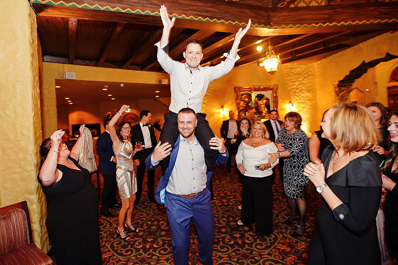Lucia Matt Indiana Roof Ballroom Wedding Reception 232