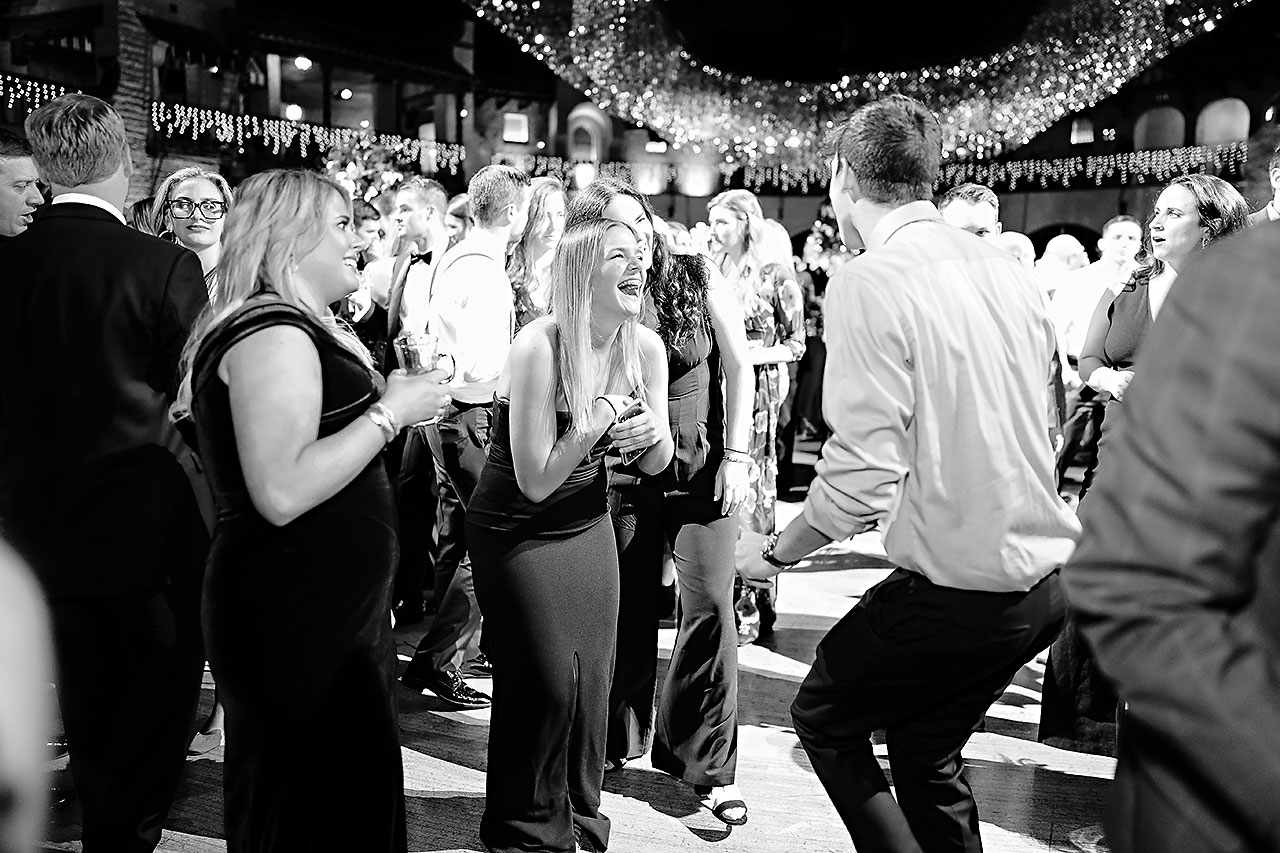 Lucia Matt Indiana Roof Ballroom Wedding Reception 233
