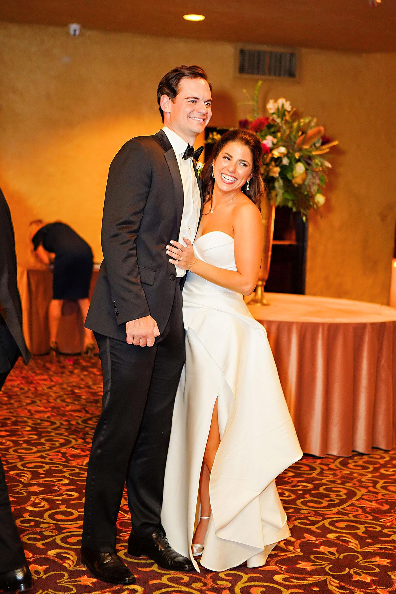 Lucia Matt Indiana Roof Ballroom Wedding Reception 229
