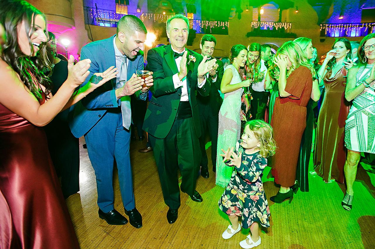 Lucia Matt Indiana Roof Ballroom Wedding Reception 223