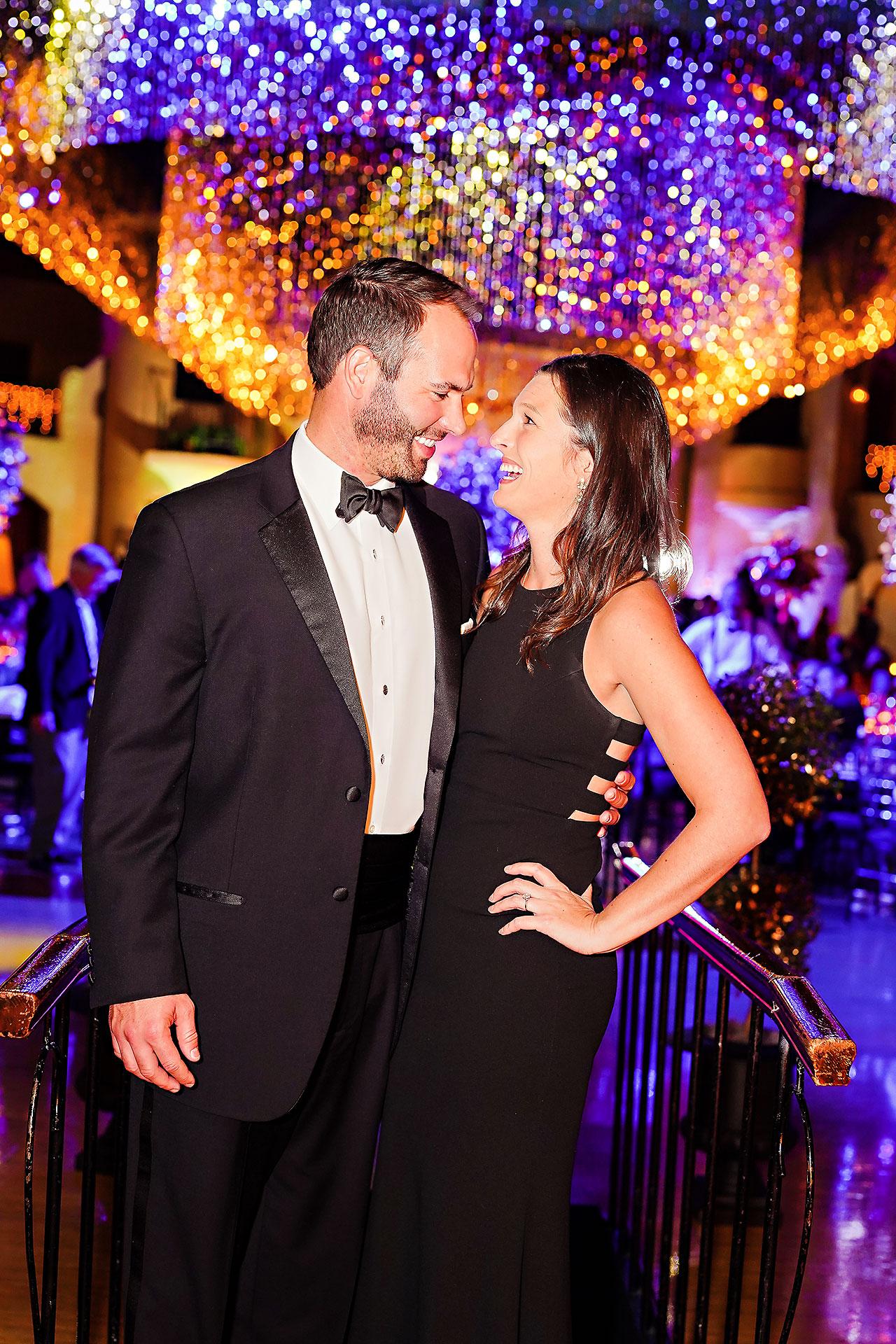 Lucia Matt Indiana Roof Ballroom Wedding Reception 224
